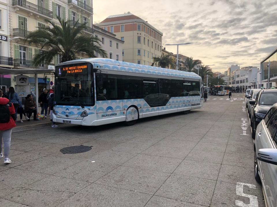 Palm Bus 417 Ligne 1